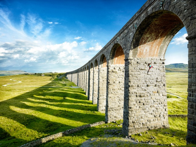 Free Climber, Ribblehead Viaduct from Foto8's Summershow