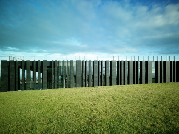 Riba awards. Giant's Causeway visitor centre, Co Antrim, Northern Ireland, designed by Heneghan Peng
